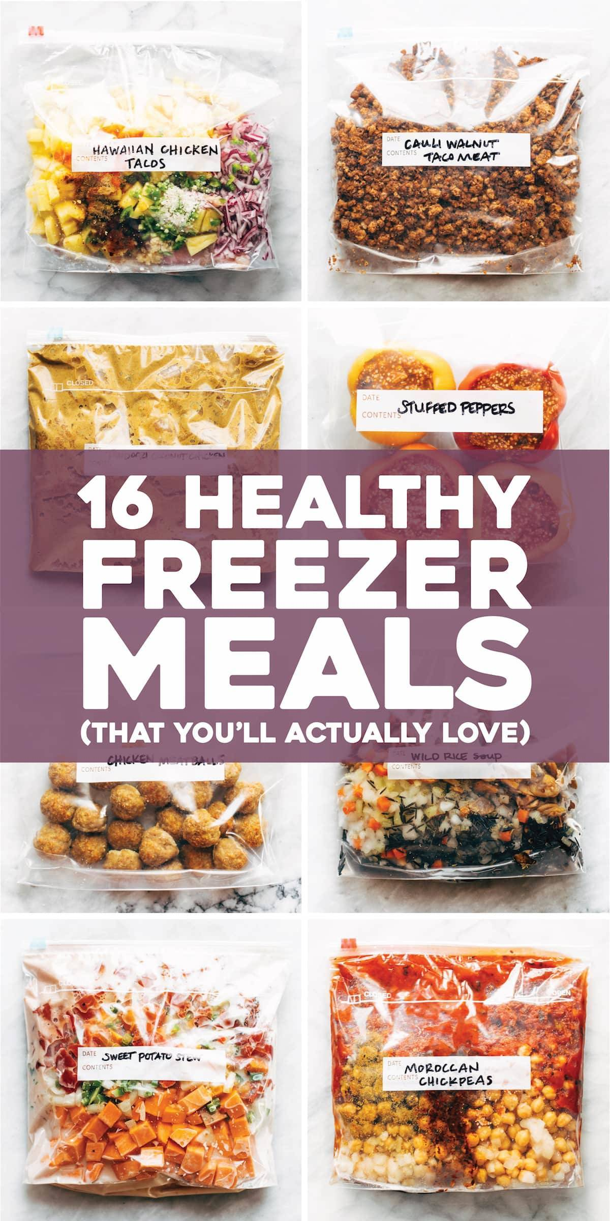 16 Healthy Freezer Meals (That You'll Actually Love)