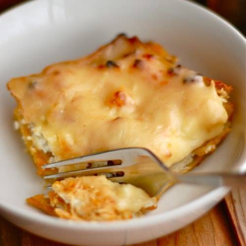 Butternut Squash Lasagna - Pinch of Yum