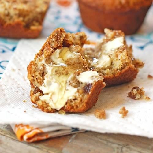 raisin bran muffins 1