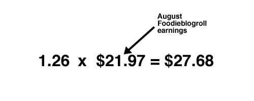 Income report equations.