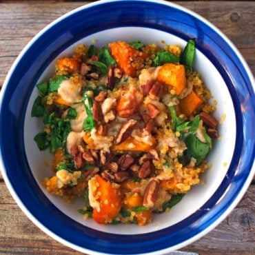 Spicy-Sweet Squash Bowl