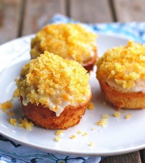 Glazed Orange Muffins