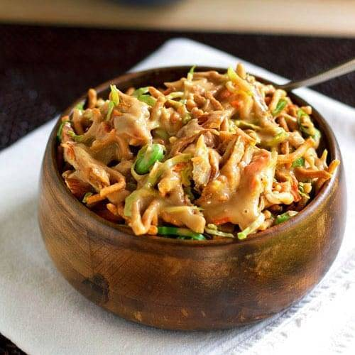 Asian Chicken Salad Recipe Pinch Of Yum