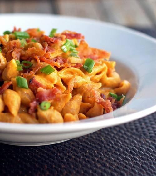 healthy pumpkin pasta