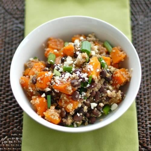 Butternut Squash & Black Bean Salad