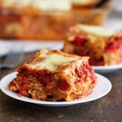 WHOLE WHEAT ROASTED VEGGIE LASAGNA Thumbnail