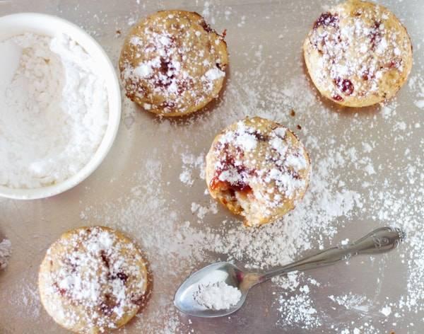 Strawberry Jam Muffins-5