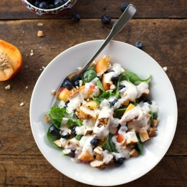 Chicken Blueberry Poppyseed Salad