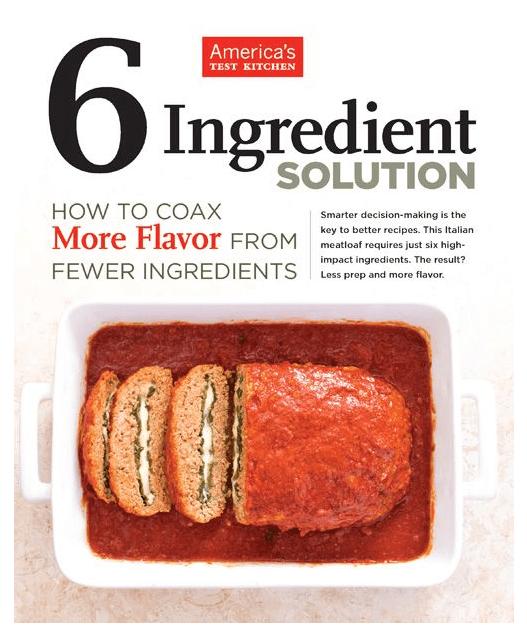 America's Test Kitchen 6 Ingredient Solution