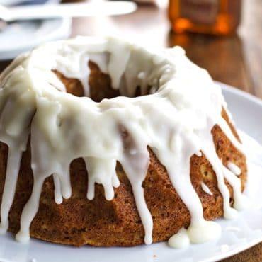 Whole Wheat Honey Apple Bundt Cake | pinchofyum.com