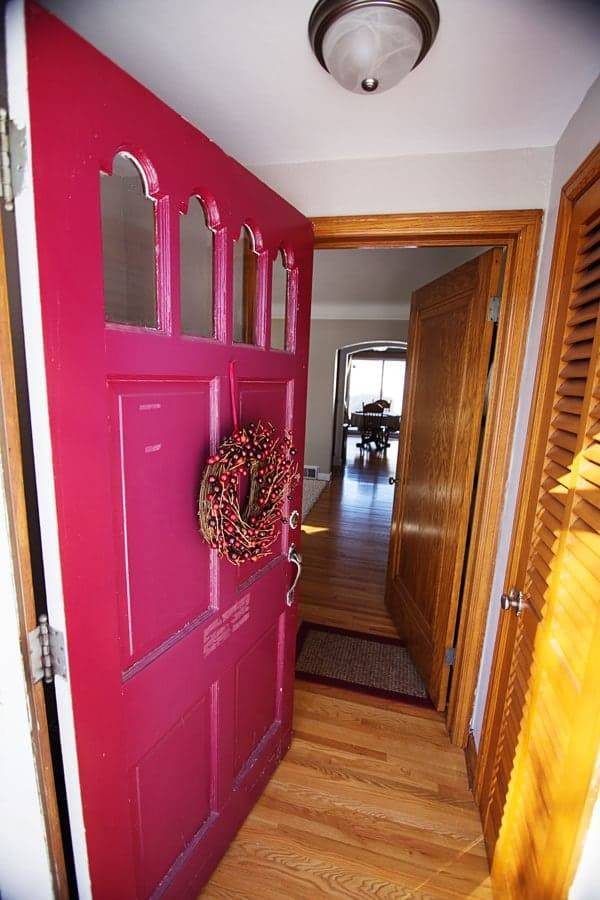 Entry way front door.