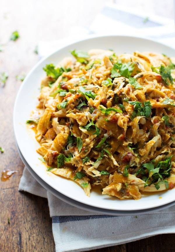 Homemade pulled chicken recipe