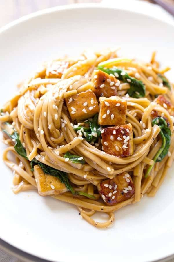 Black Pepper Stir Fried Noodles Recipe Pinch Of Yum