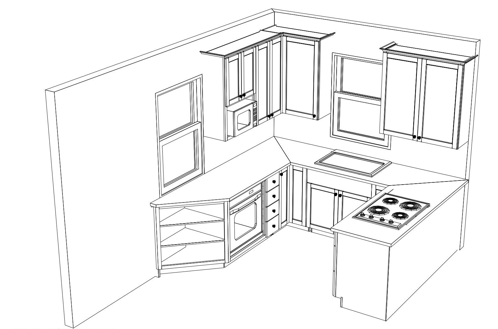 Kitchen Layout.