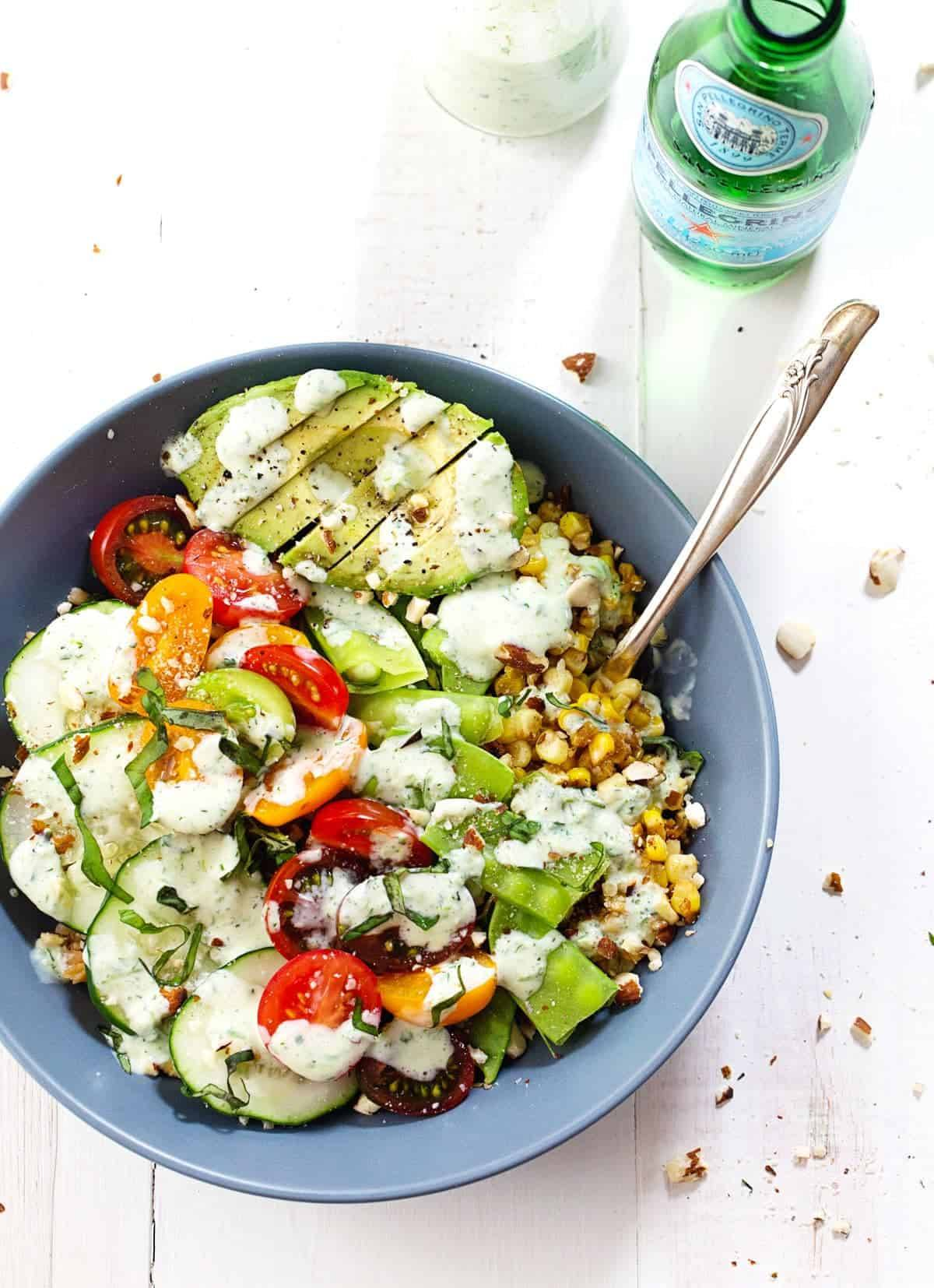 ... have your mouth hugged by this creamy, tangy, spicy jalapeño ranch