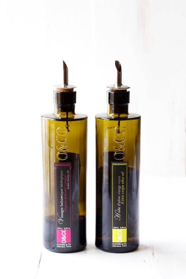 Oliviers and Co. olive oil and balsamic - so pretty! | pinchofyum.com