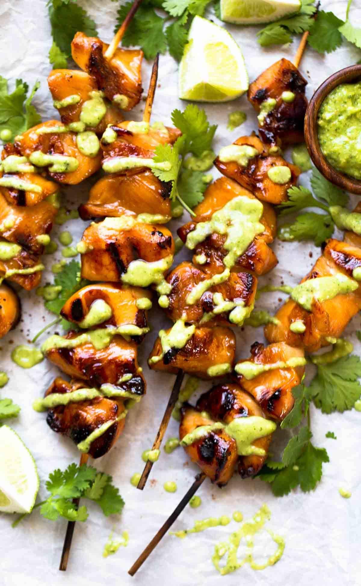 The Best 3 Ingredient Grilled Chicken Recipe - Pinch of Yum