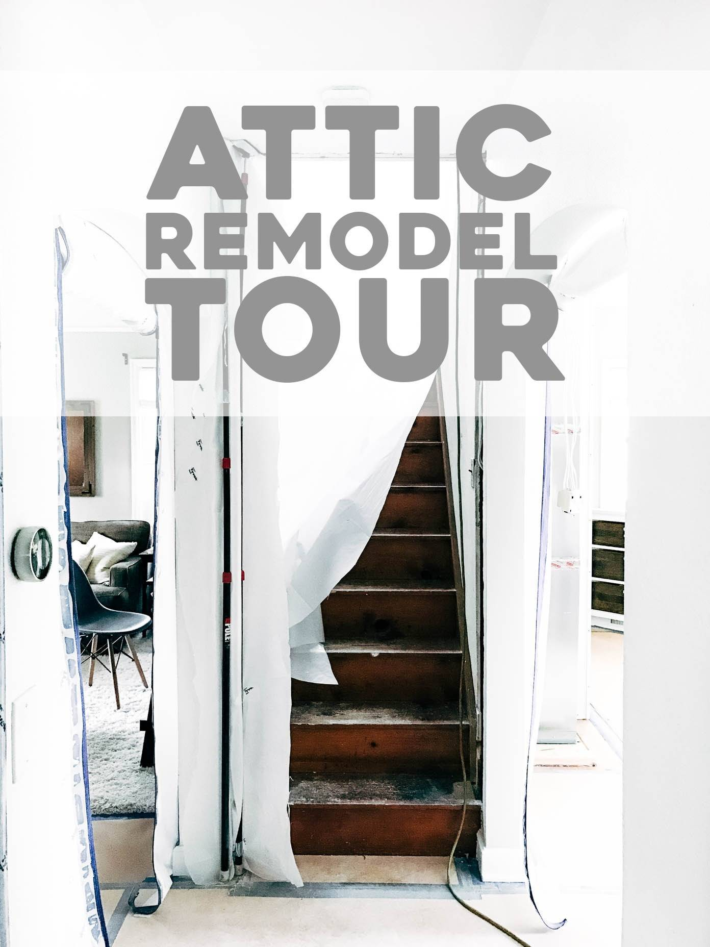 Attic Remodel Tour Phase e Pinch of Yum