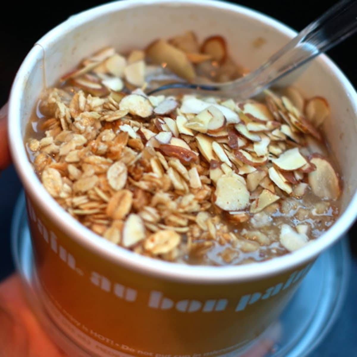 These peanut butter banana power oats are packed with protein and fiber for a healthy start to your day! Quick, easy, and peanut butter delicious. | pinchofyum.com