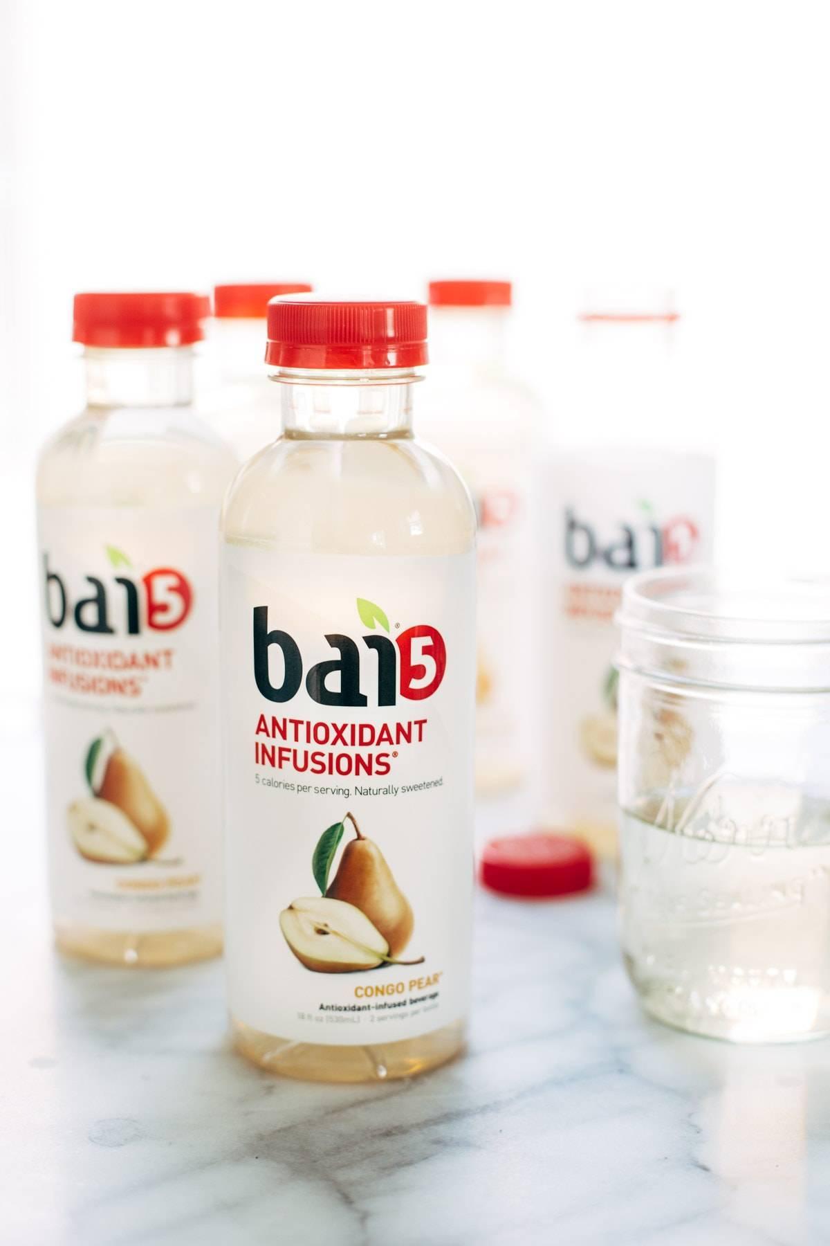 Bai5 in Quinoa Breakfast Porridge | pinchofyum.com