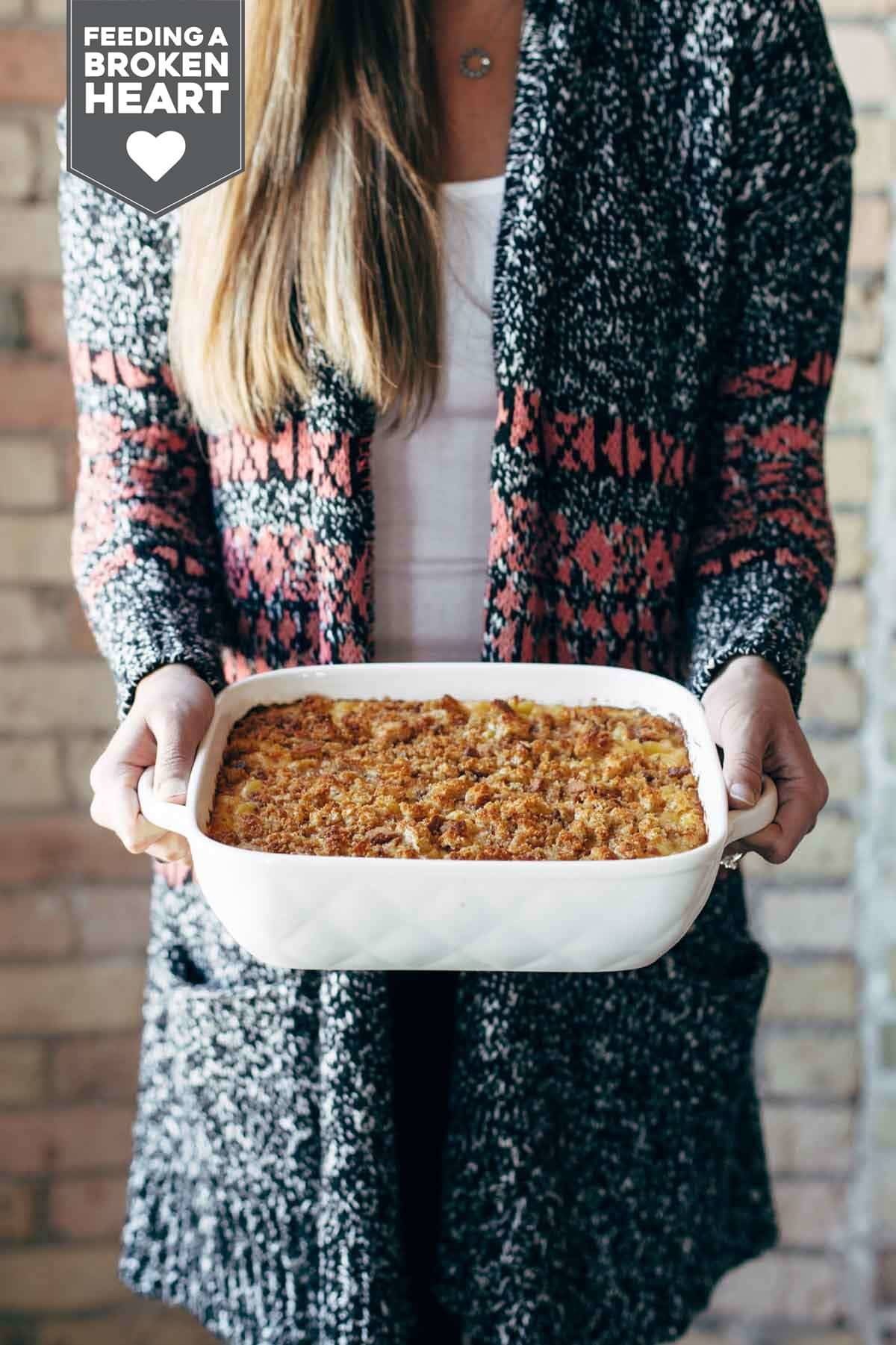 Baked Mac and Cheese - simple ingredients, OMG mac and cheese vibes. perfect comfort food! | pinchofyum.com
