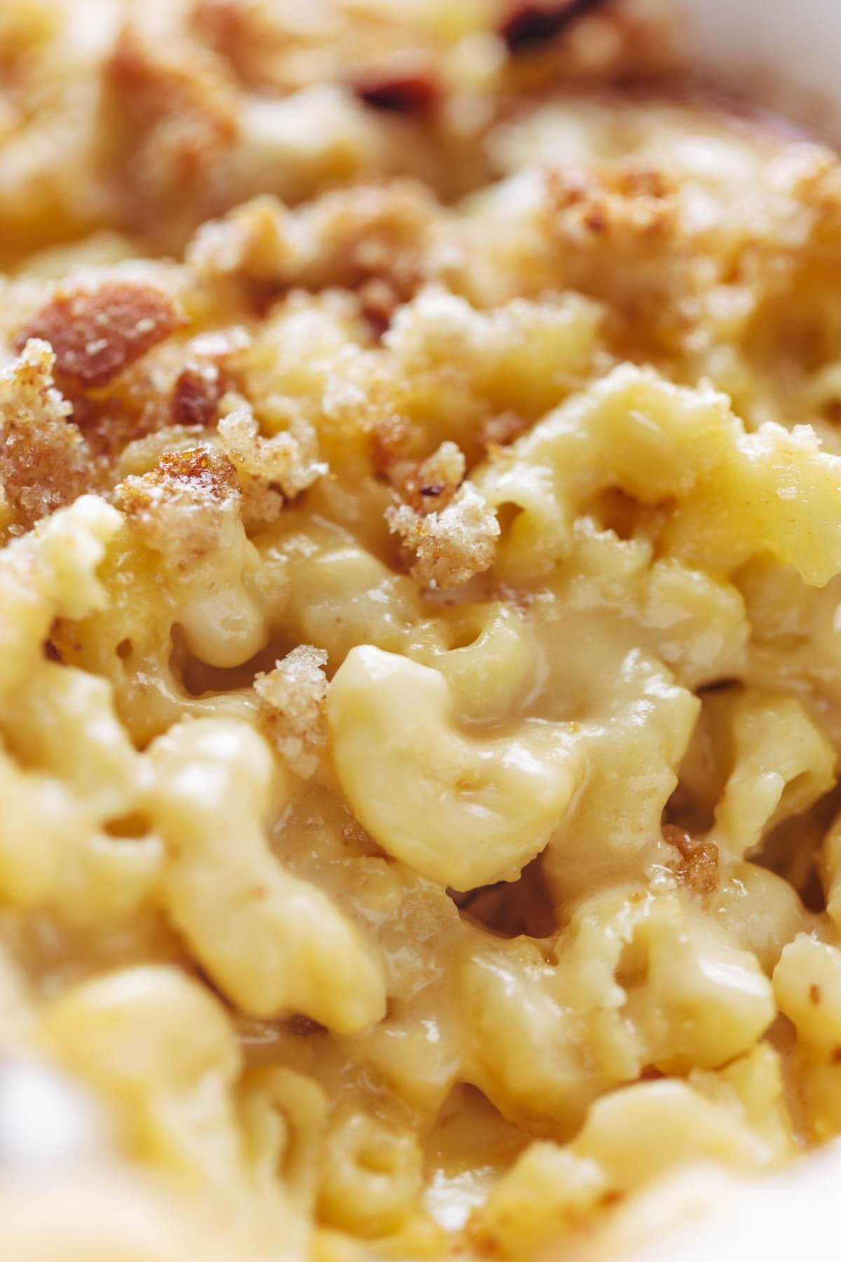Light Baked Mac And Cheese