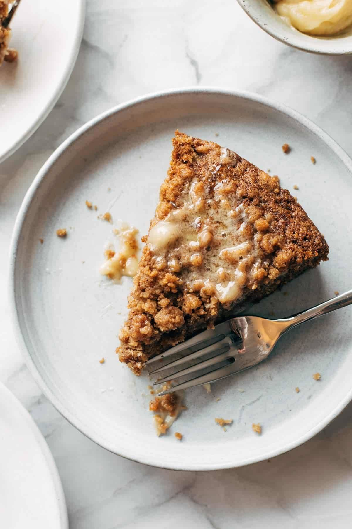 Carrot Cake Coffee Cake Recipe Pinch Of Yum
