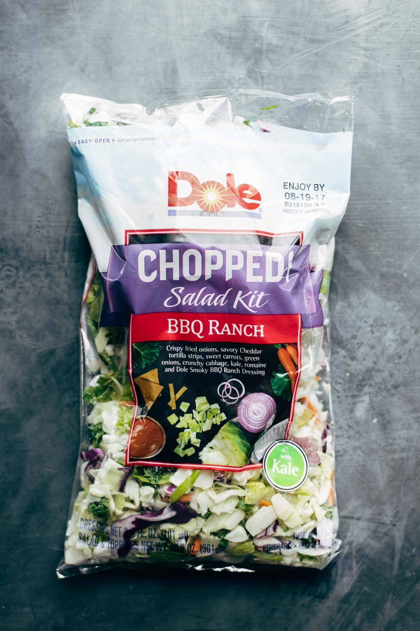 Dole Chopped Salad Kit | pinchofyum.com
