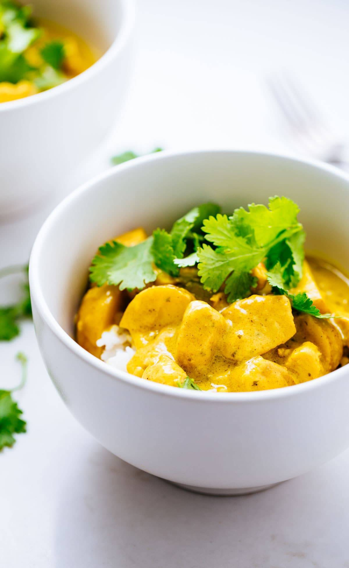 Thai yellow chicken curry with potatoes recipe pinch of yum thai yellow chicken curry with potatoes forumfinder Images