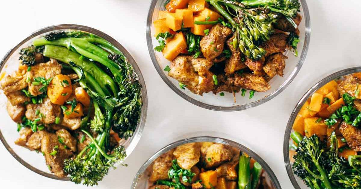 Spicy chicken and sweet potato meal prep magic pinch of yum forumfinder Images