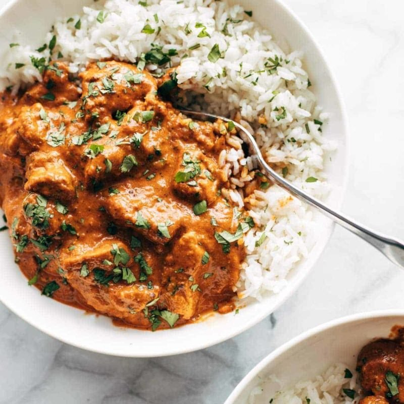 A picture of Chicken Tikka Masala