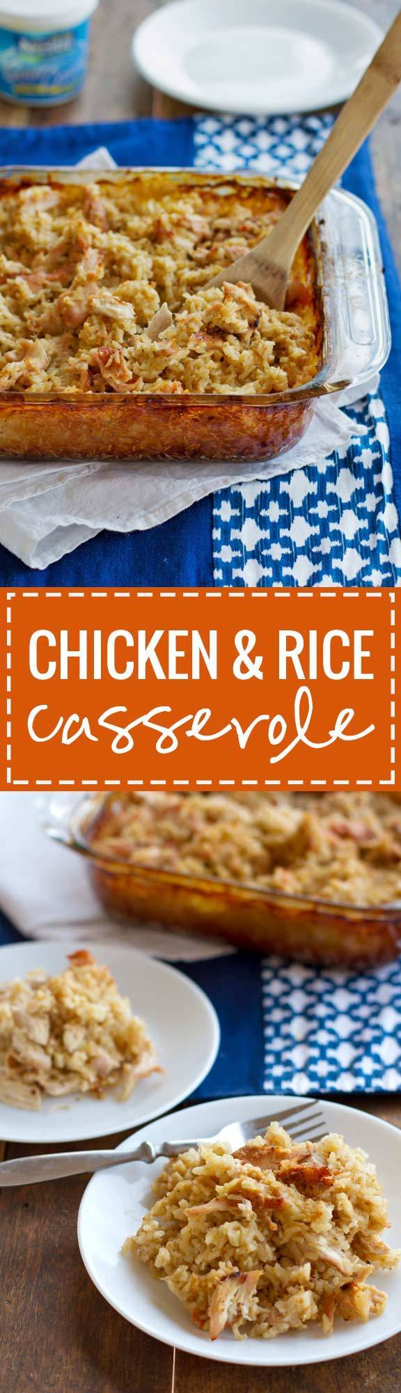 recipe: deep covered baker chicken and rice [26]