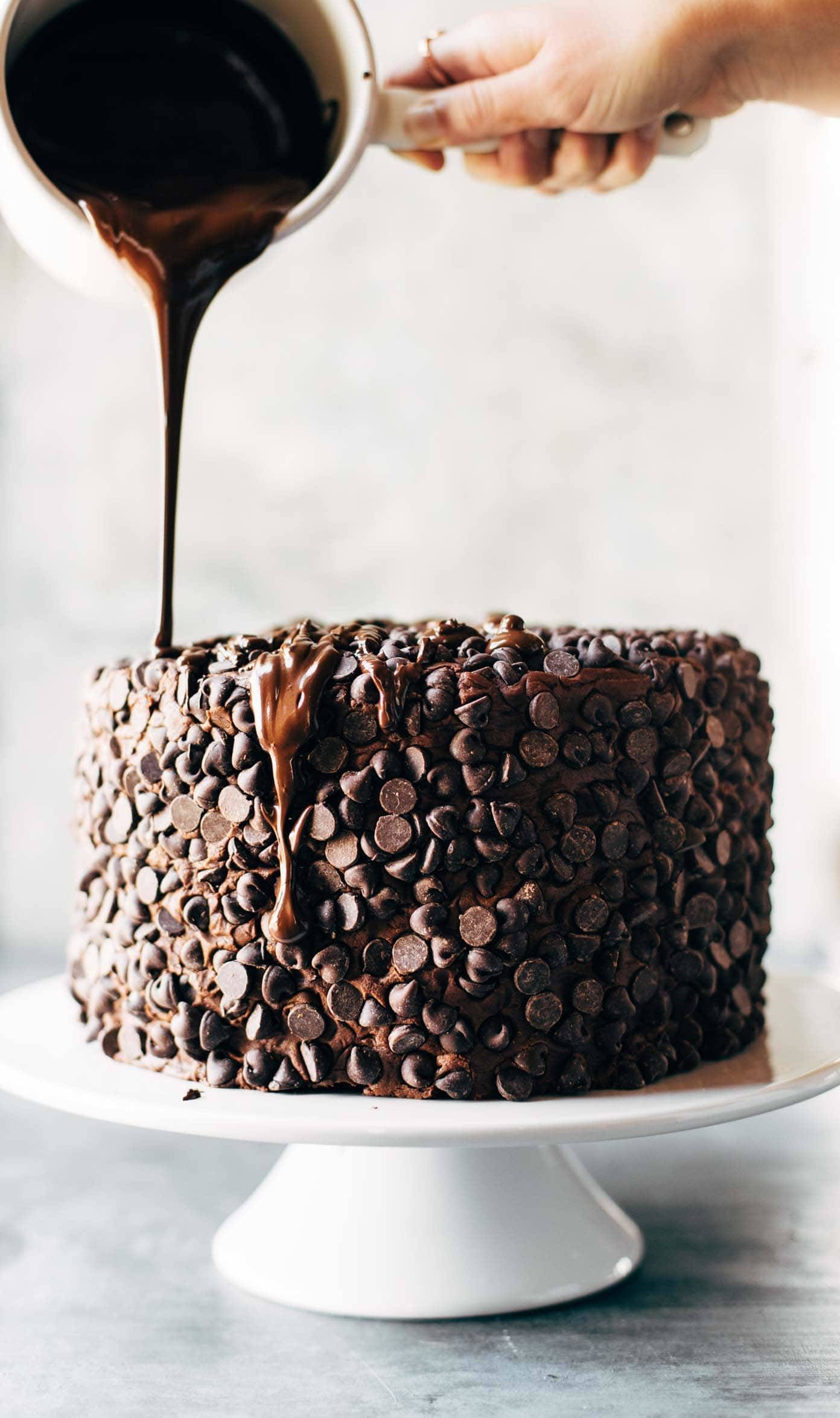 Chocolate Cake Frosting With Chocolate