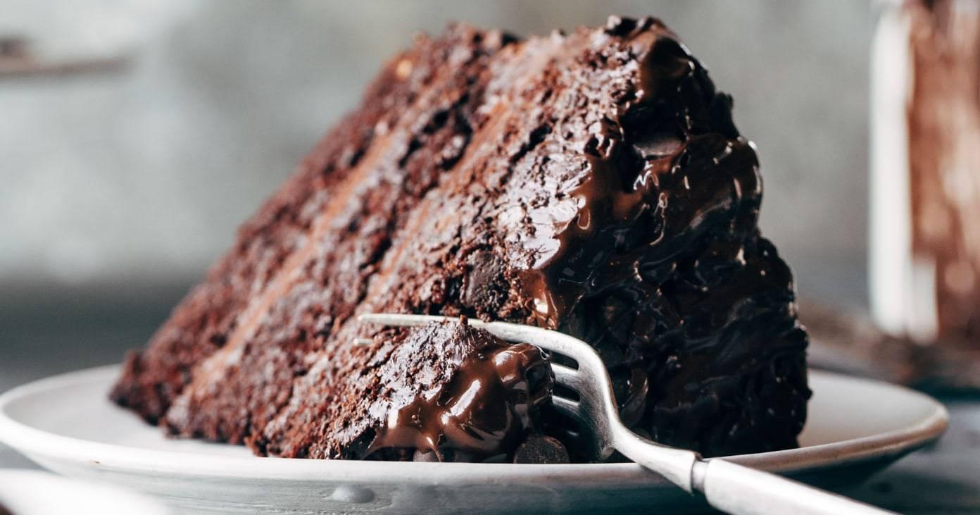Blackout Chocolate Cake Recipe Pinch Of Yum