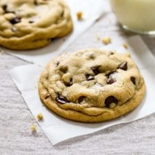 The Best Soft Chocolate Chip Cookies