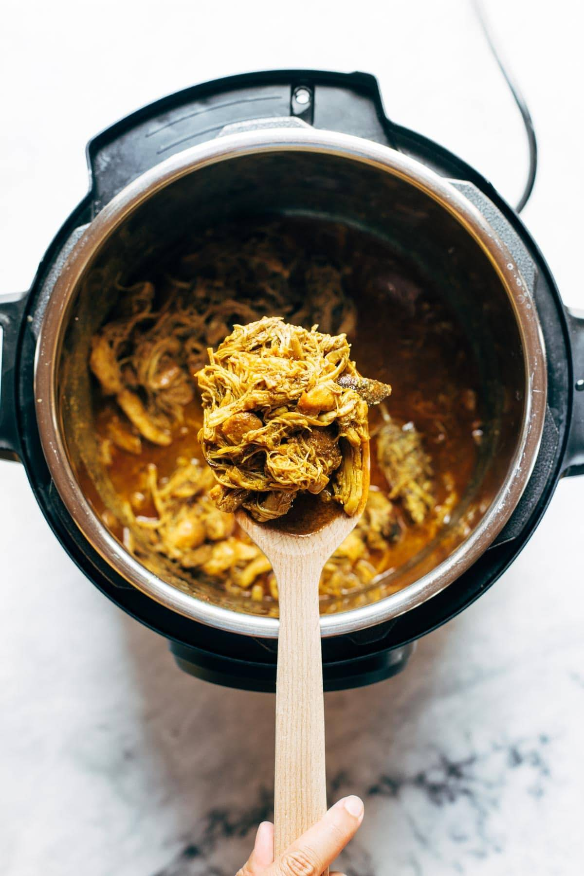 Coconut Tandoori-Inspired Chicken in an Instant Pot.