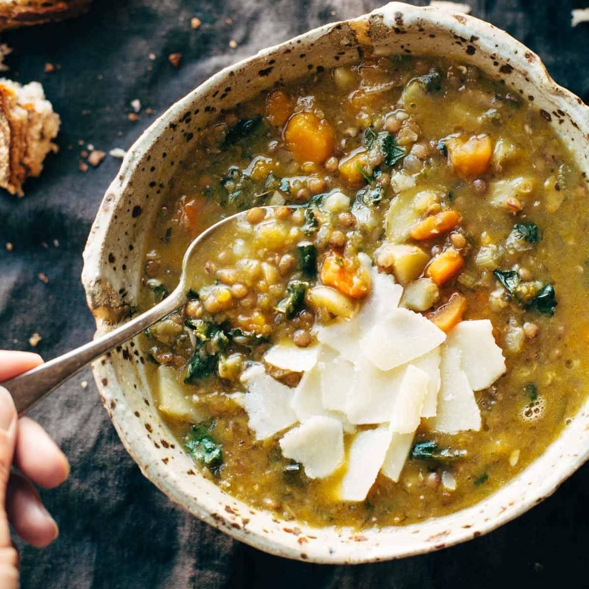 The Best Detox Crockpot Lentil Soup Recipe