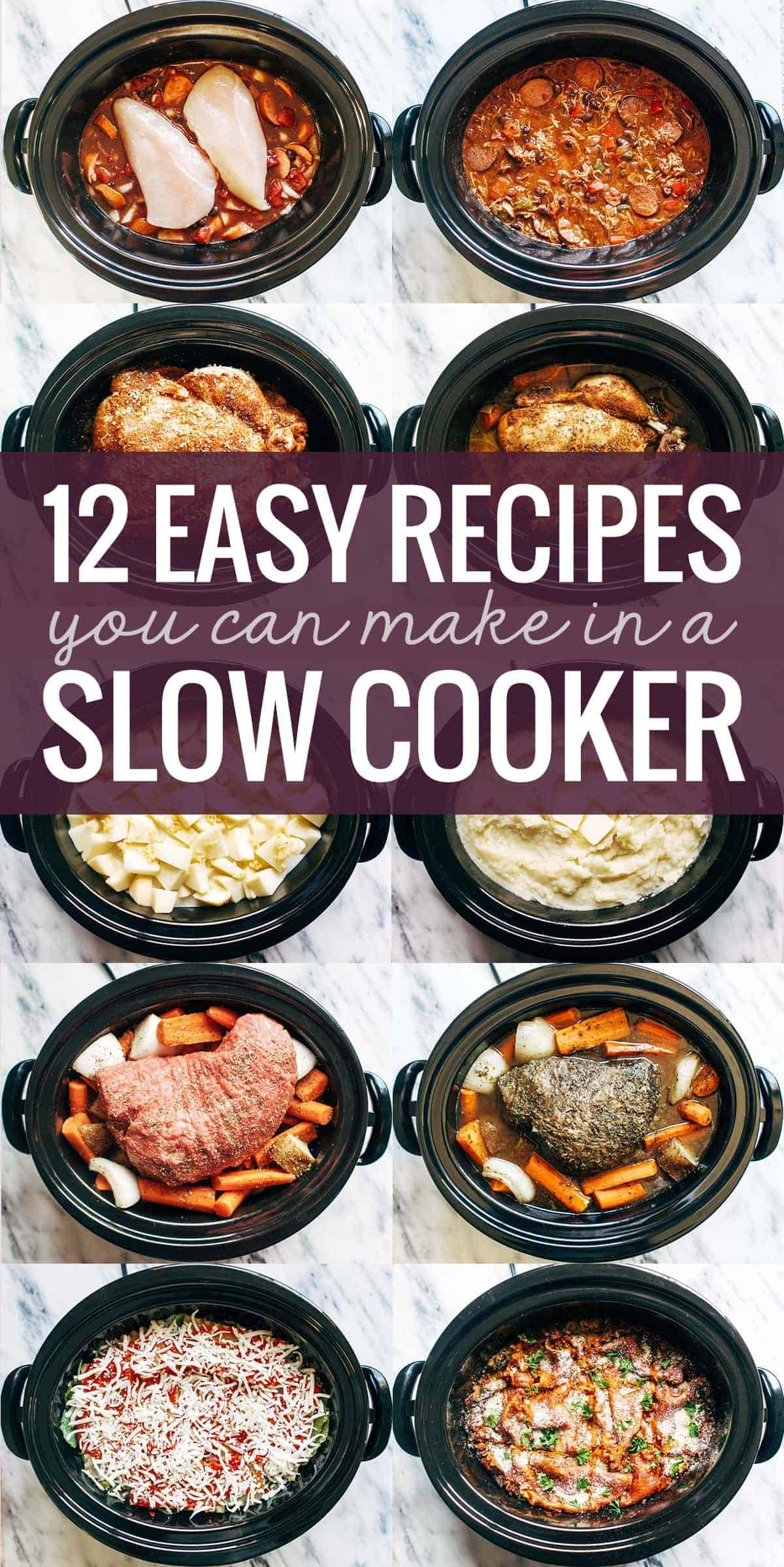 12 Easy Recipes For The Slow Cooker, Like Mashed Potatoes, Lasagna, A Whole