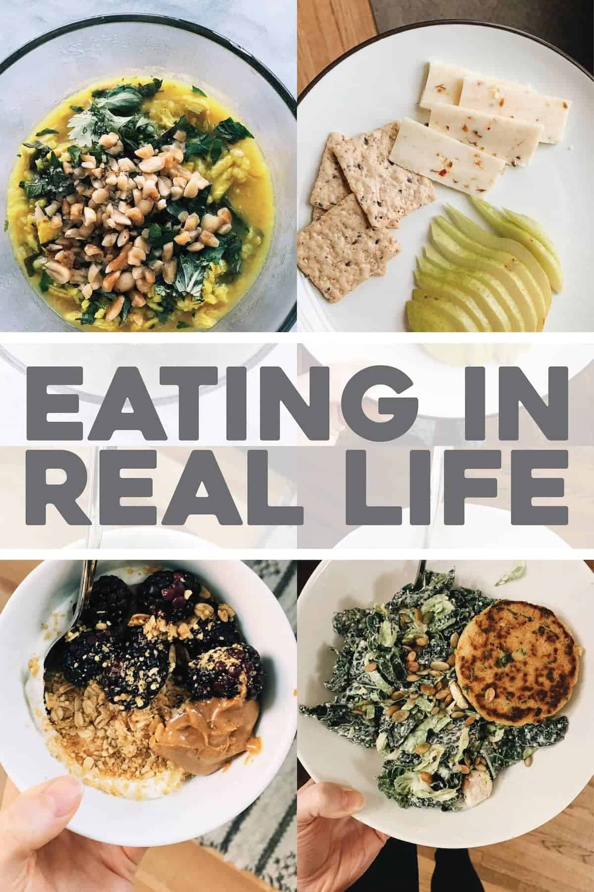 Eating In Real Life (Sugar Free, Part 1)