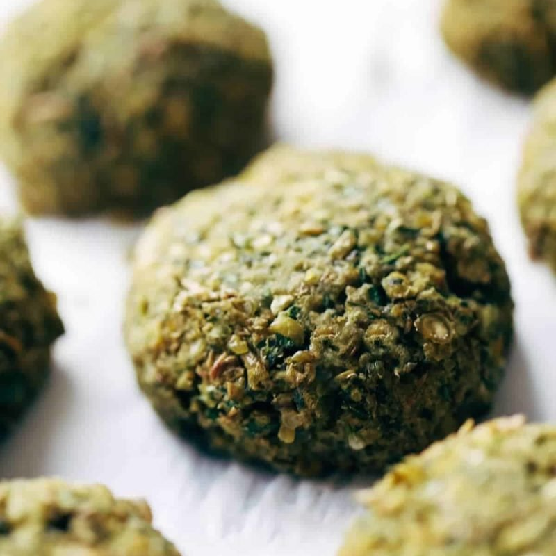 A picture of Simple 5 Ingredient Baked Falafel