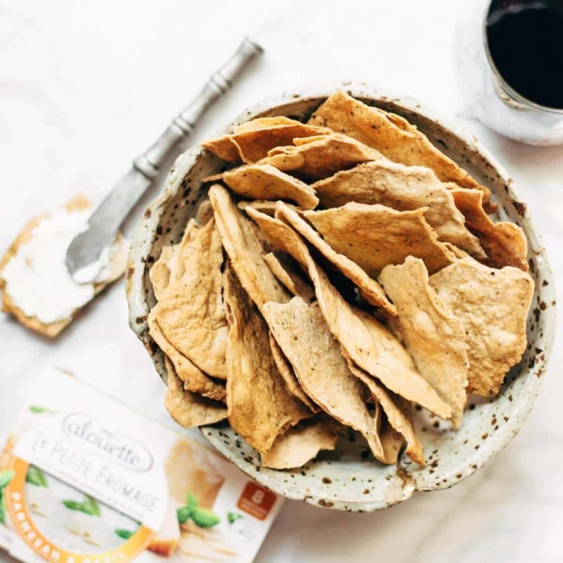 A picture of Easy Homemade Flatbread Crackers