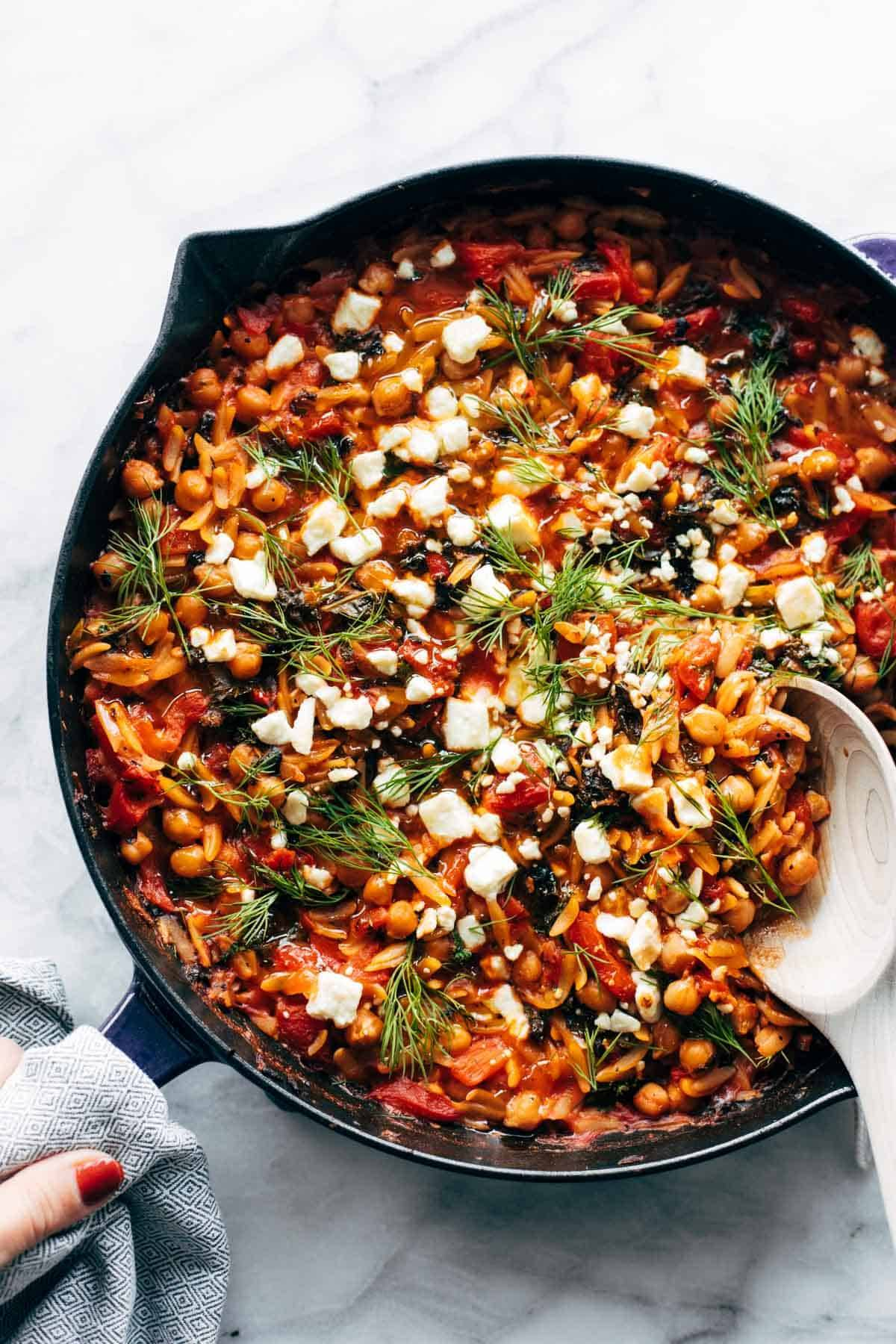 Greek Baked Orzo