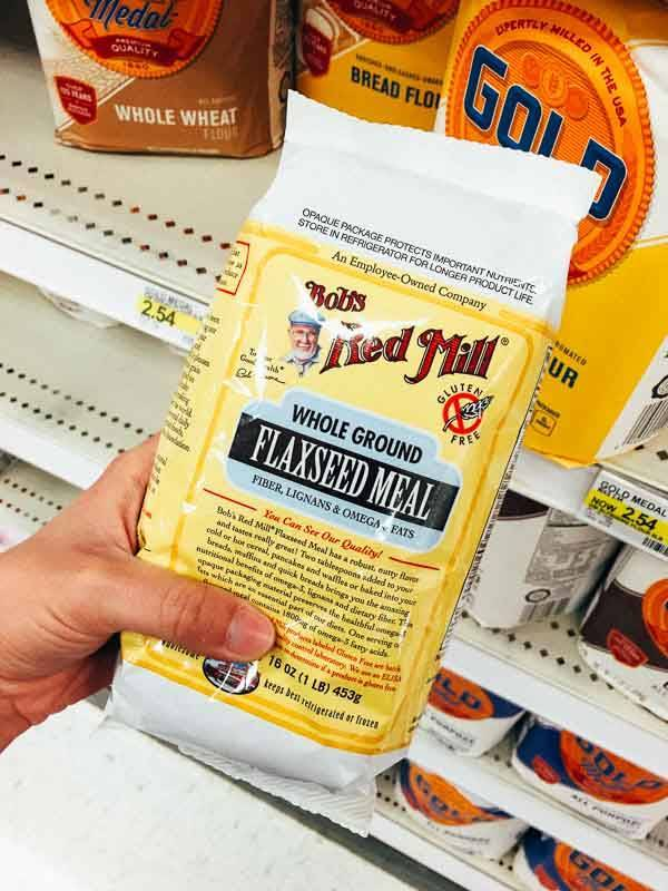 Grocery Shopping at Target - Flax