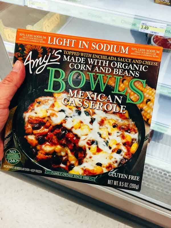 Grocery Shopping at Target - Amy's Organic
