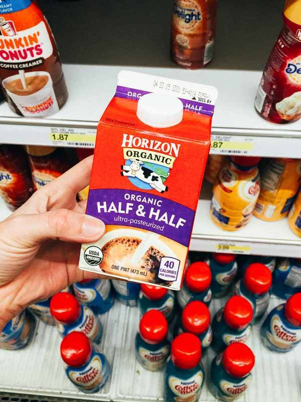 Grocery Shopping at Target - Half and Half