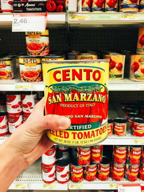 Grocery Shopping at Target - San Marzano.
