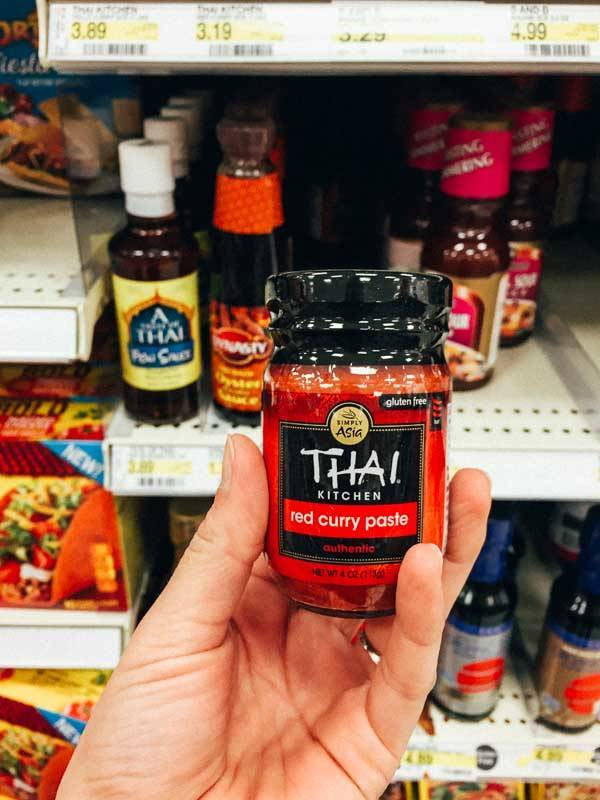 Grocery Shopping at Target - Curry Paste