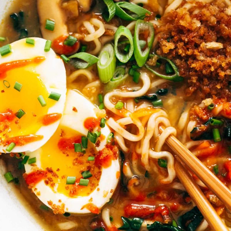 A picture of Quick Homemade Ramen