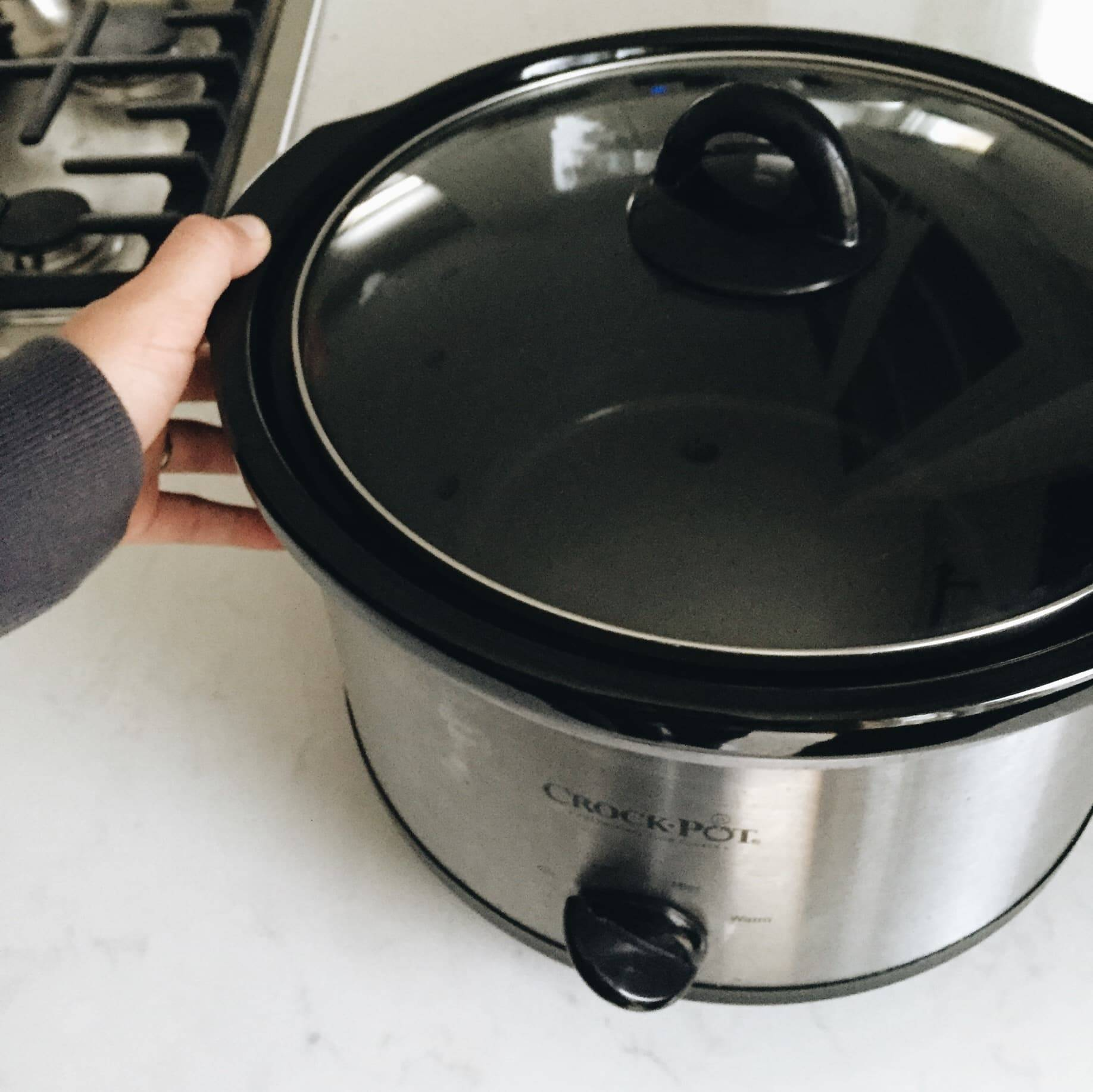 Slow cooker.