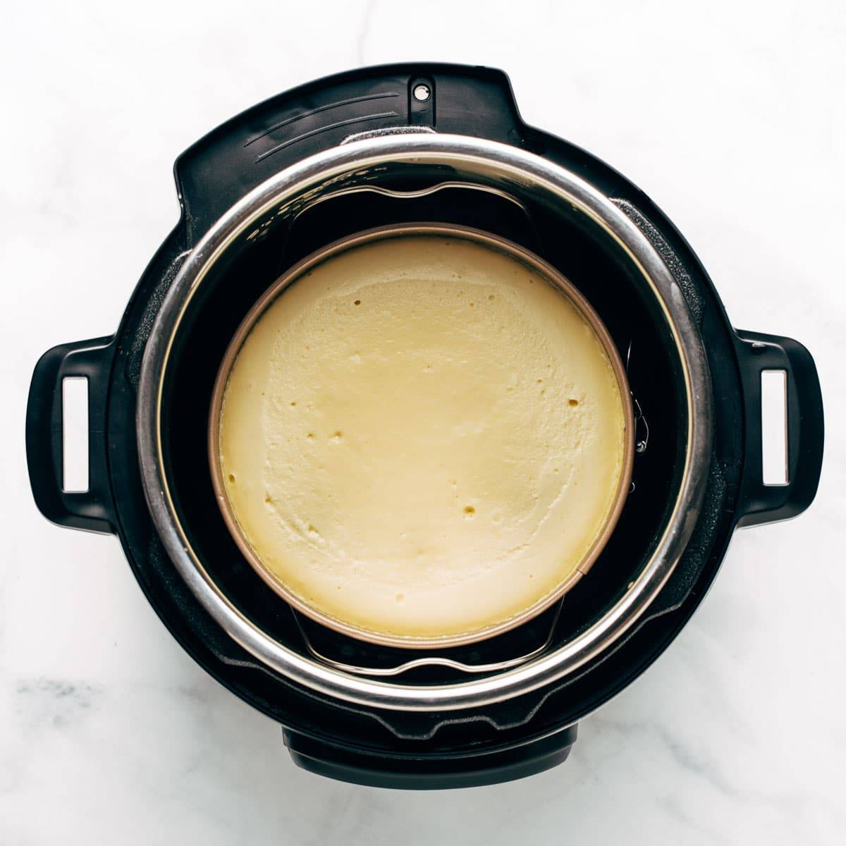 Cheesecake in the Instant Pot.